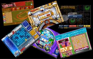 オンラインカジノアーケードゲームとその他のゲームのイメージ画像