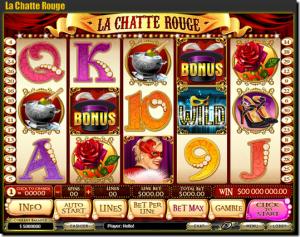 オンラインカジノスロットゲームイメージ画像