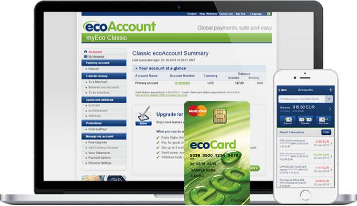 ecoPayz(エコペイズ)のイメージ画像