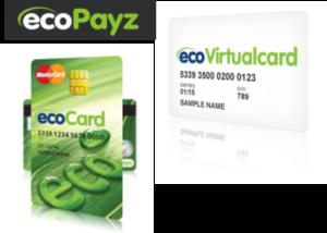 ecoPayz(エコペイズ)の[ecoCard]・[Virtualcard]のイメージ画像